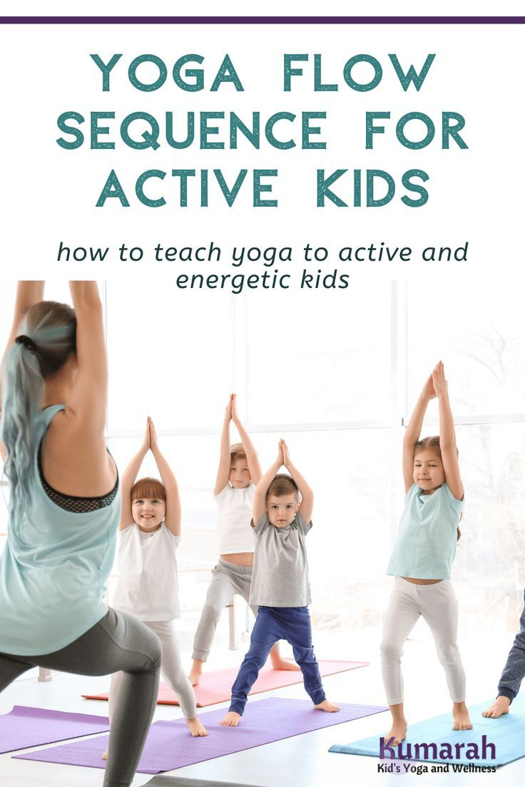 Yoga Flow: Quick Yoga Sequences for Kids to Slow Down in