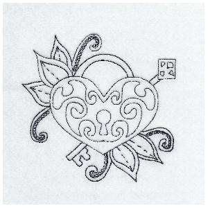 Eternal Love Quilt Design - 12 - embroiderylovely