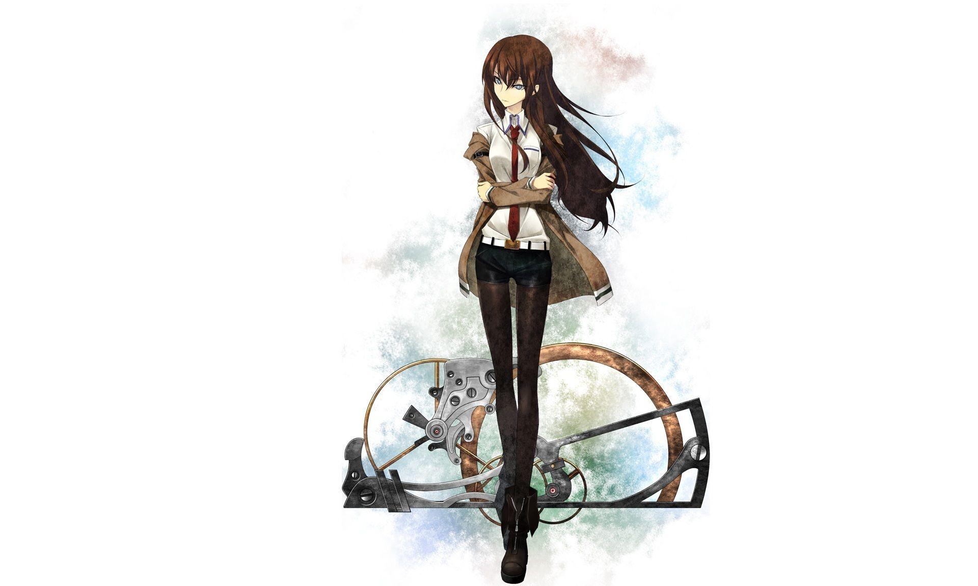 Makise Kurisu Part 6 1ecgef 100 イラスト シュタゲ アートスタイル