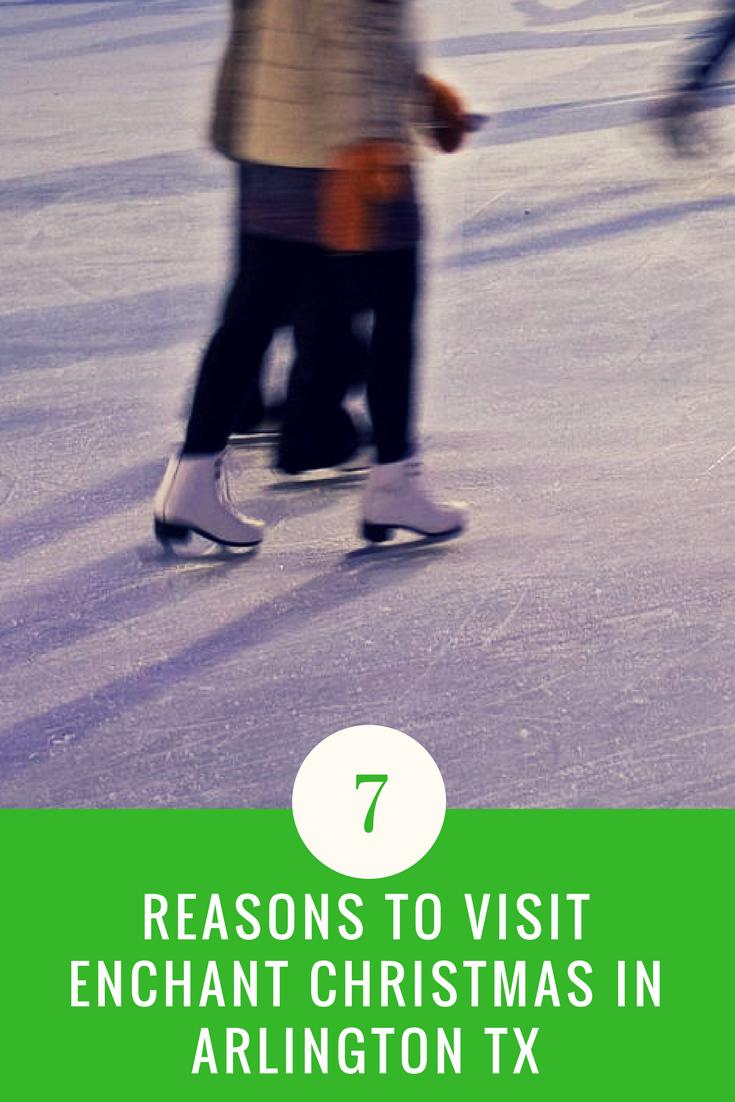 7 reasons to visit enchant christmas in arlington tx