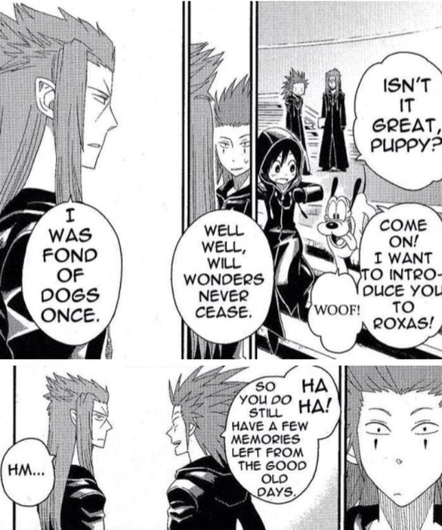 I'm literally just pinning this for Axel's facial expression in the bottom right panel. XD It's precious.