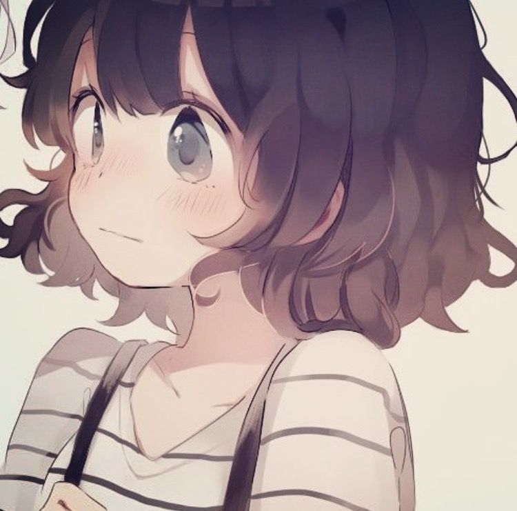 This Actually Really Looks Like Me With The Wavy Messy Hair Anime Anime Drawings Anime Love
