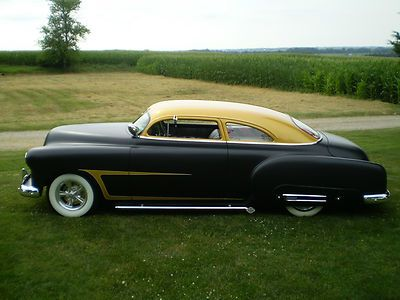 CUSTOM CHOP TOP 1952 CHEVY SEDAN and it is for sale | cool