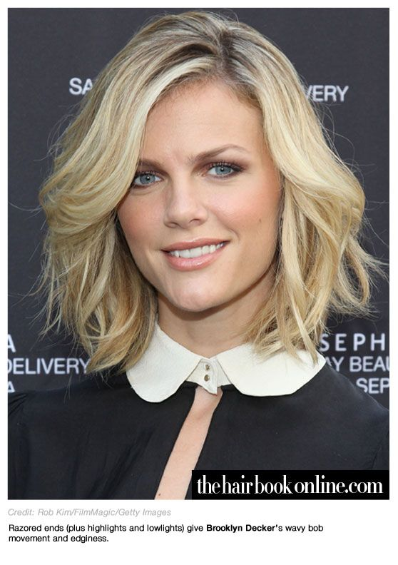 Stupendous Brooklyn Decker Short Wavey Hair Kinda Makes Me Want To Cut My Short Hairstyles For Black Women Fulllsitofus