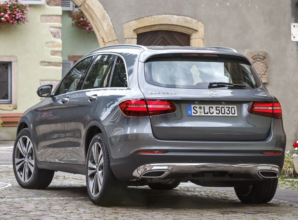 Mercedes Glc 220 D 4matic Off Road 2015 With Images