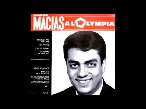 enrico macias olympia 1964 youtube enrico macias musique chanson chansons fran aises. Black Bedroom Furniture Sets. Home Design Ideas
