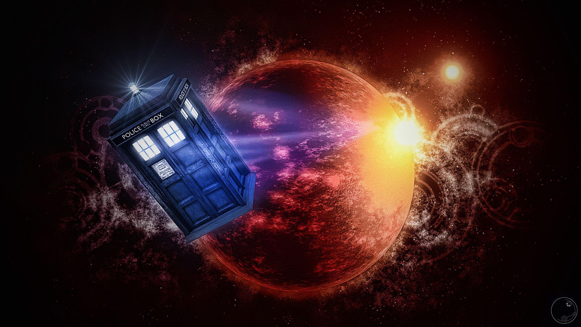 Tardis Leaving 2 By Guile93 On Deviantart Wallpaper Space Tardis Doctor Who Art