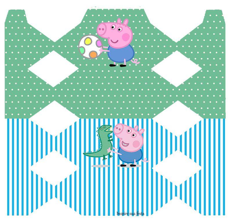 George Pig Kit Festa Infantil Gratis Para Imprimir Kit Festa