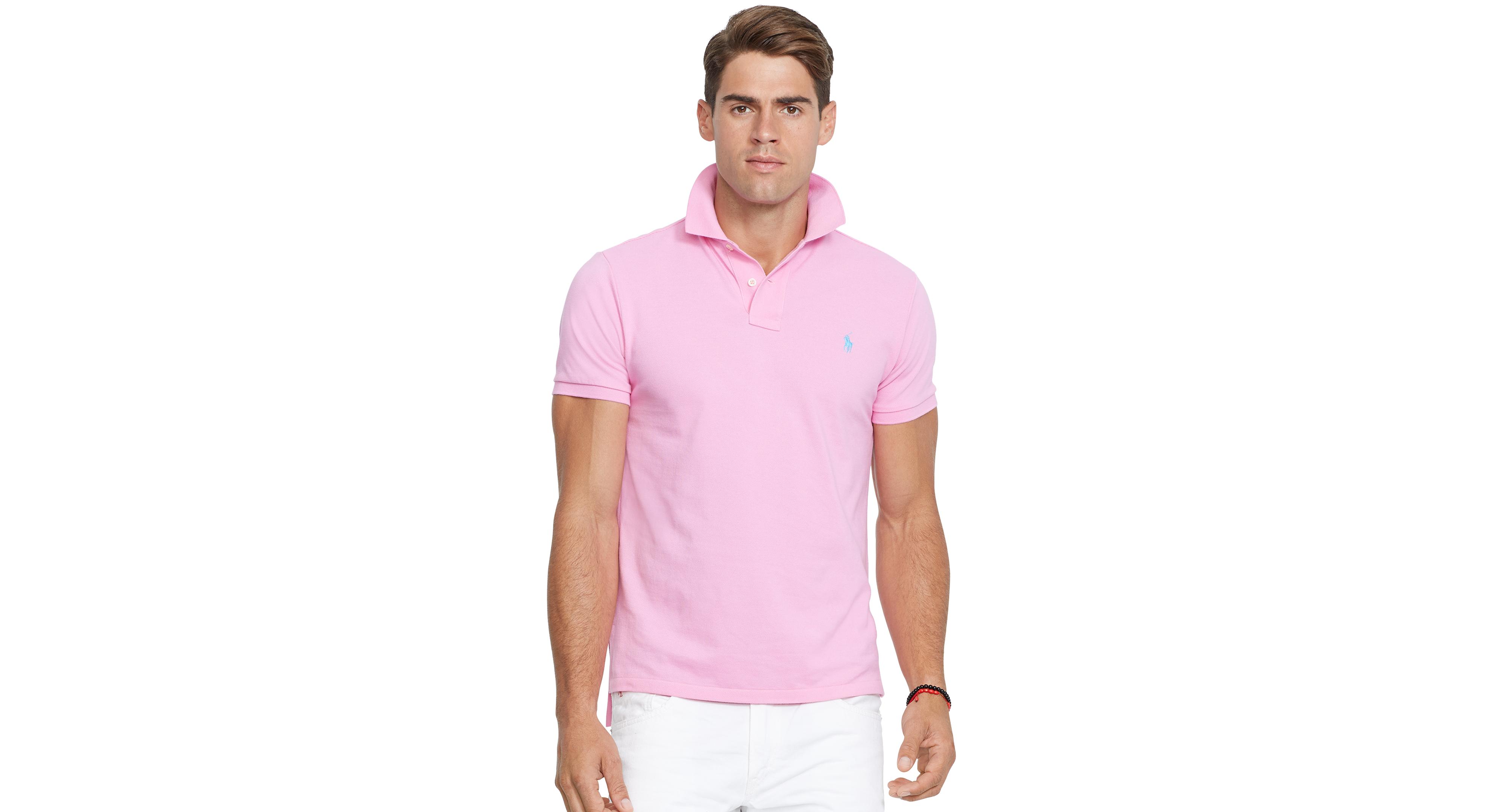 e0301608 Polo Ralph Lauren Custom-Fit Mesh Polo Shirt | Products