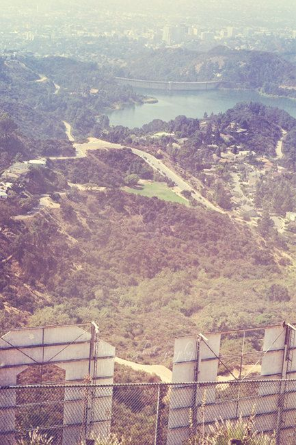Hollywood sign photography Los Angeles decor LA by MyanSoffia, $ 95.00