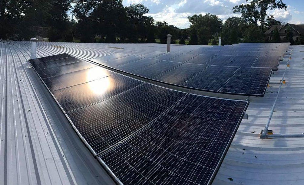 Hanvey Going Green in 2017! Solar Tesla Green