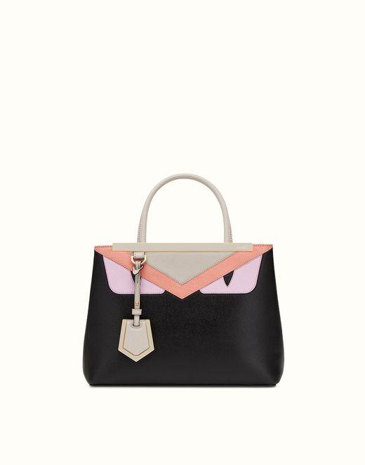 Black Petite 2Jours Bag Bugs Tote Fendi XQuT5