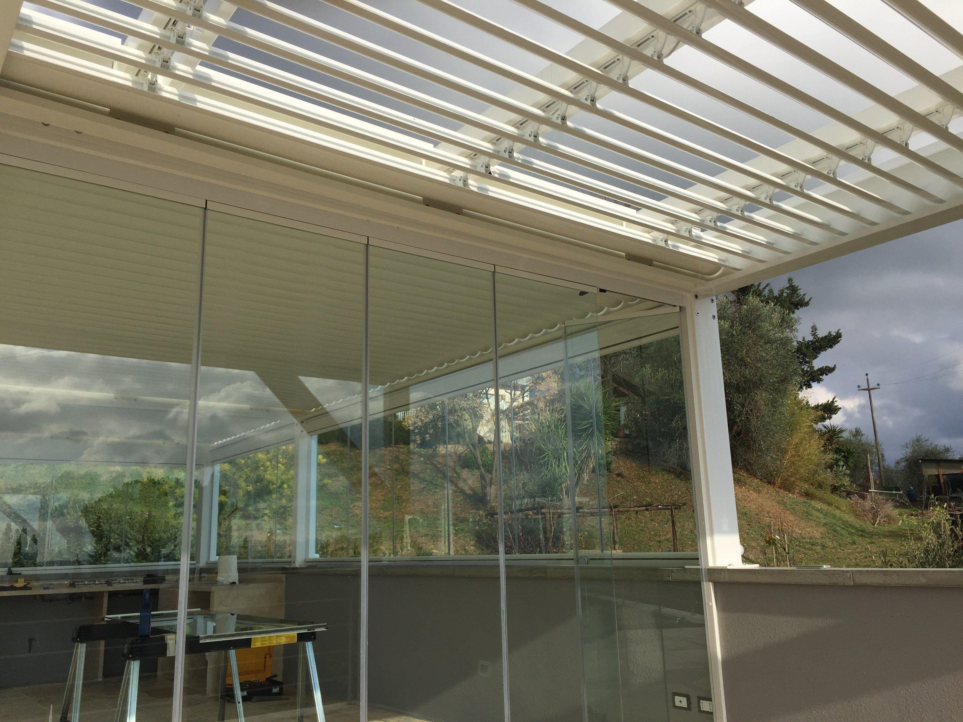 verande in ferro - Cerca con Google | Tettoie recinzioni pergole ...