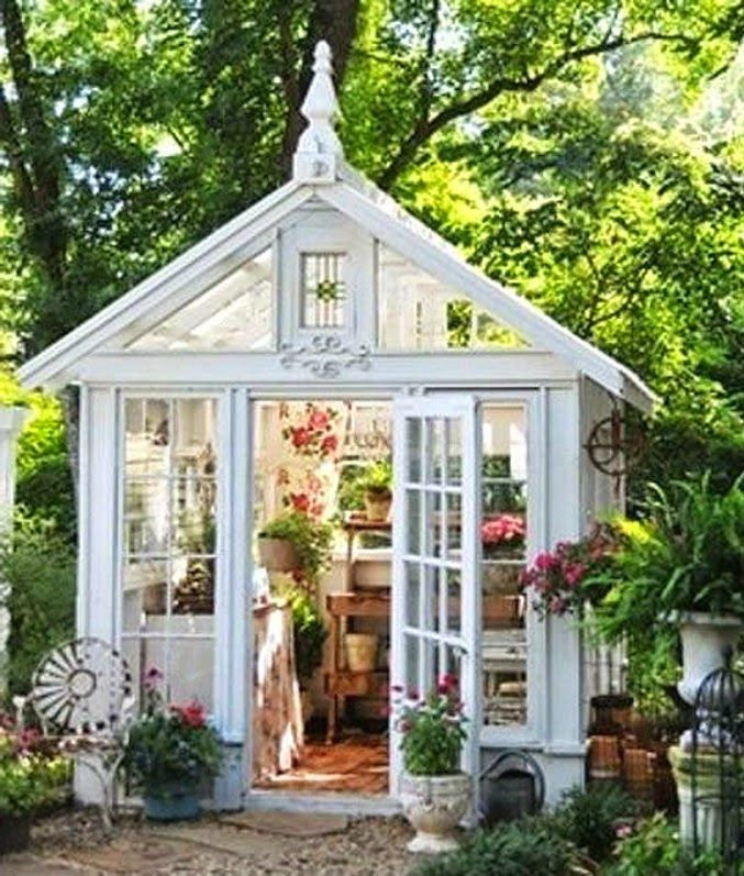 """Female Man Cave Shed : These """"she sheds are the female equivalent of a man cave"""