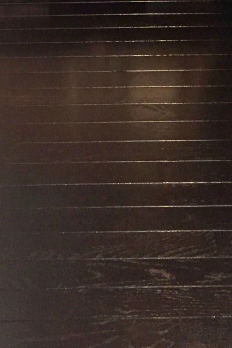 Restaining hardwood floors has never been easier with gel