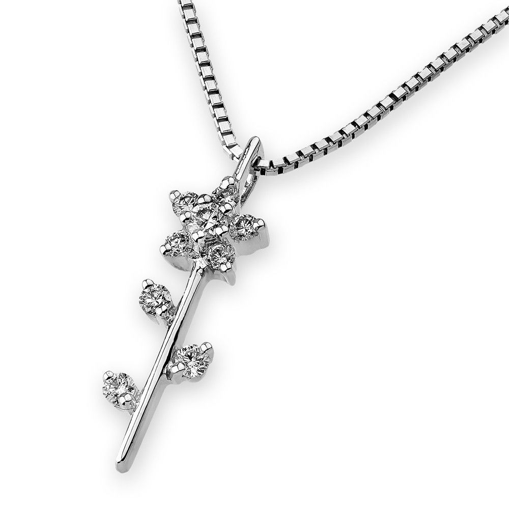 Single flower diamond pendant sp hk please click to