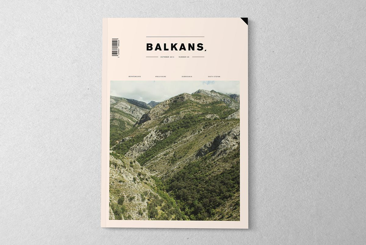 This Is A Design Proposal For Travel Magazine It Is Concentrated