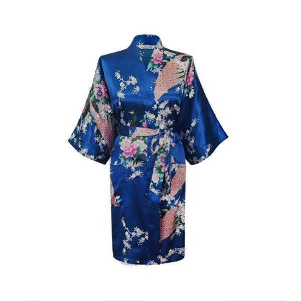 926bf6d526047 Medium Length Silk Womens Robes - 2 to 20 - Floral Bride ...
