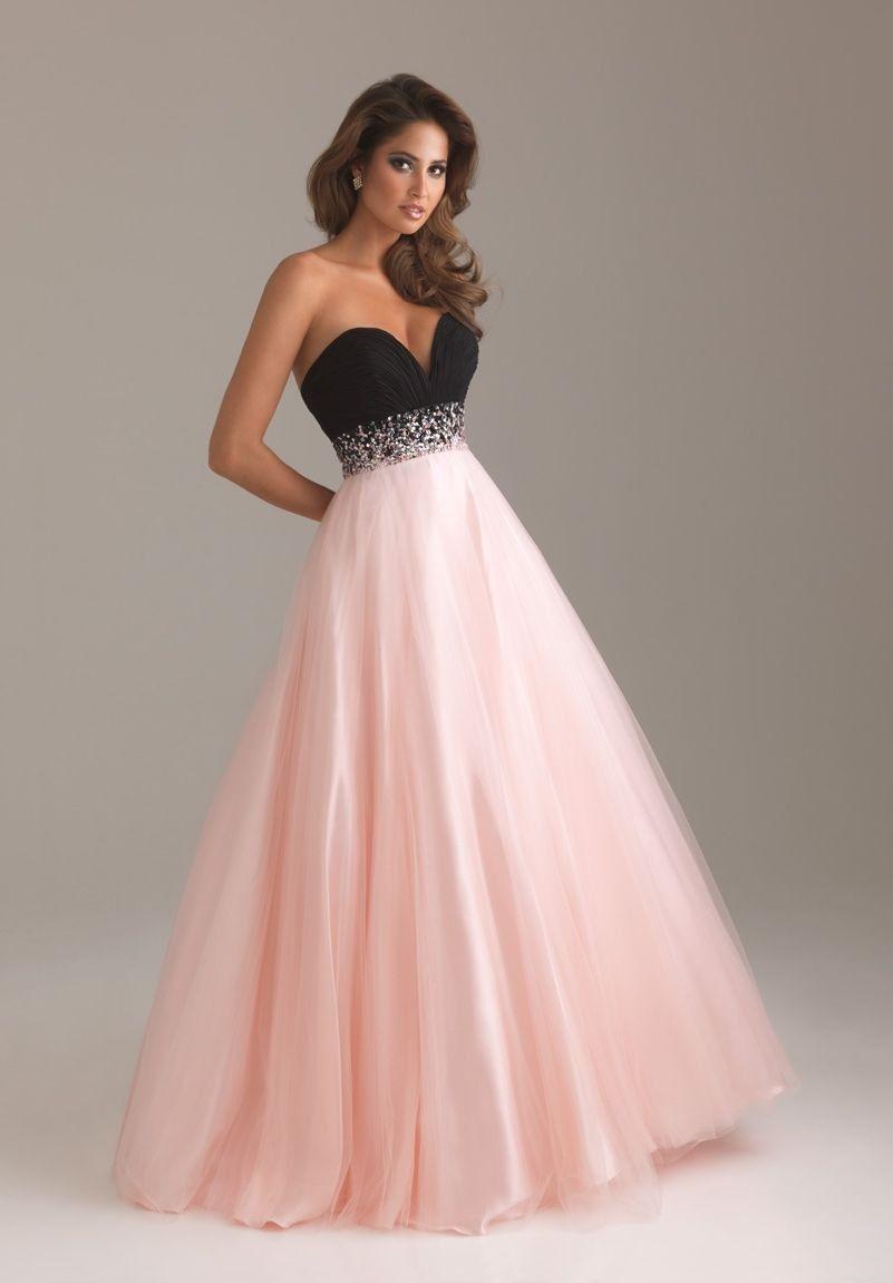 White on the bottom, perfect wedding dress! | Ideas | Pinterest ...