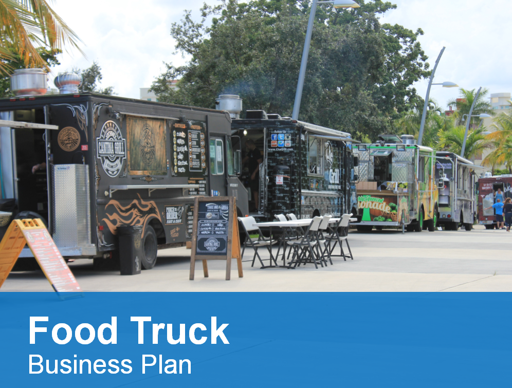 The Food Truck Business Plan Template Is A High Quality Hybrid
