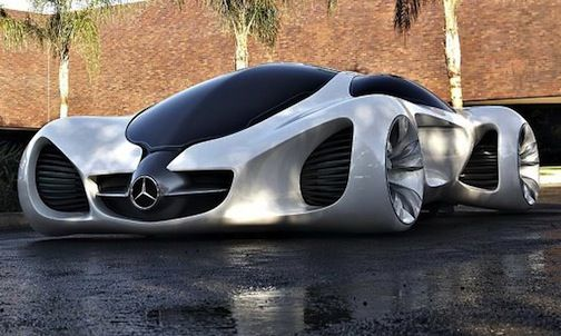 ... F700 Fantasy Nixie Car 2014. Merveilleux Pure Fantasy: Mercedes Benz  Biome Concept