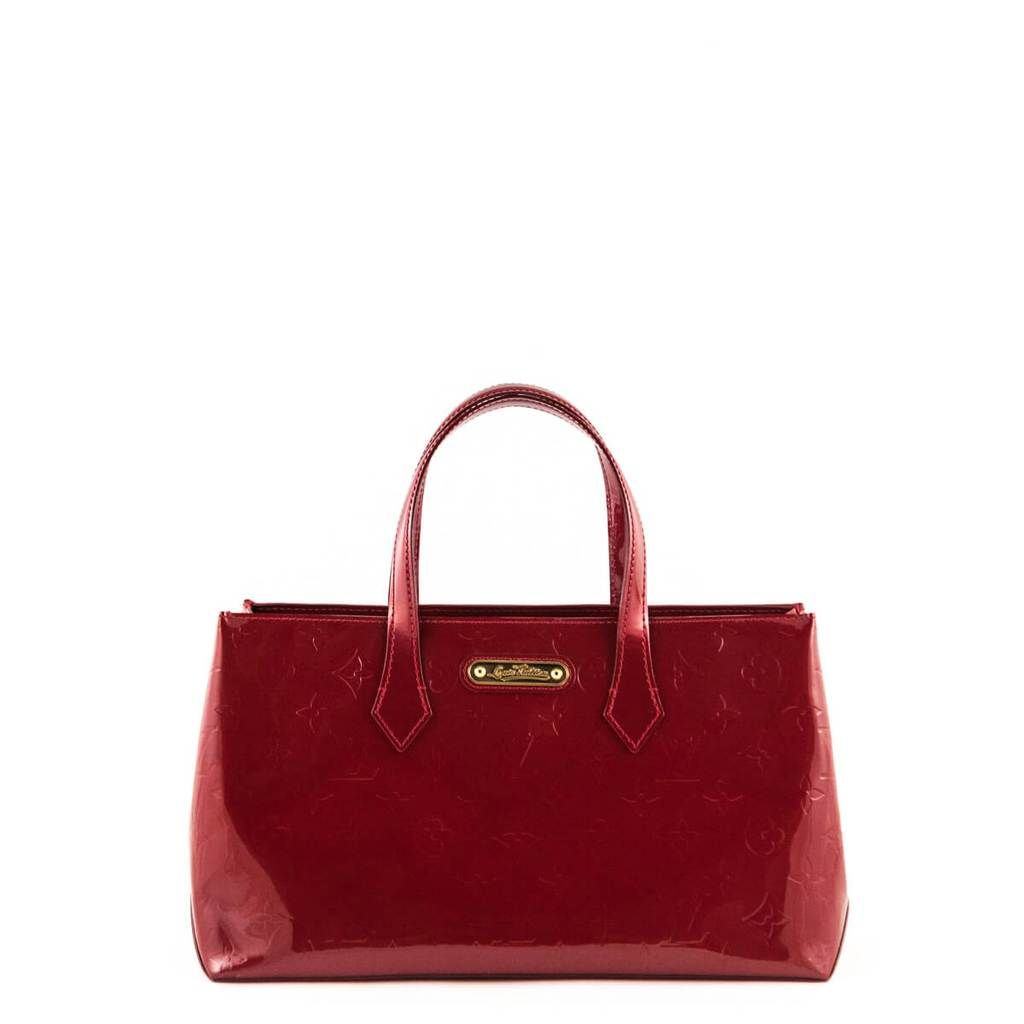 fa078a77fa4e Louis Vuitton Red Vernis Empreinte Wilshire PM - LOVE that BAG - Preowned  Authentic Designer Handbags