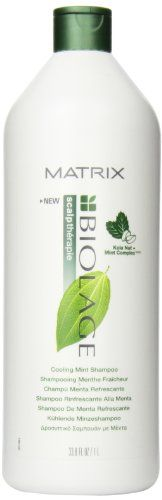 Matrix Biolage Cooling Mint Shampoo 338 Ounce *** You can find out more details at the link of the image.Note:It is affiliate link to Amazon.