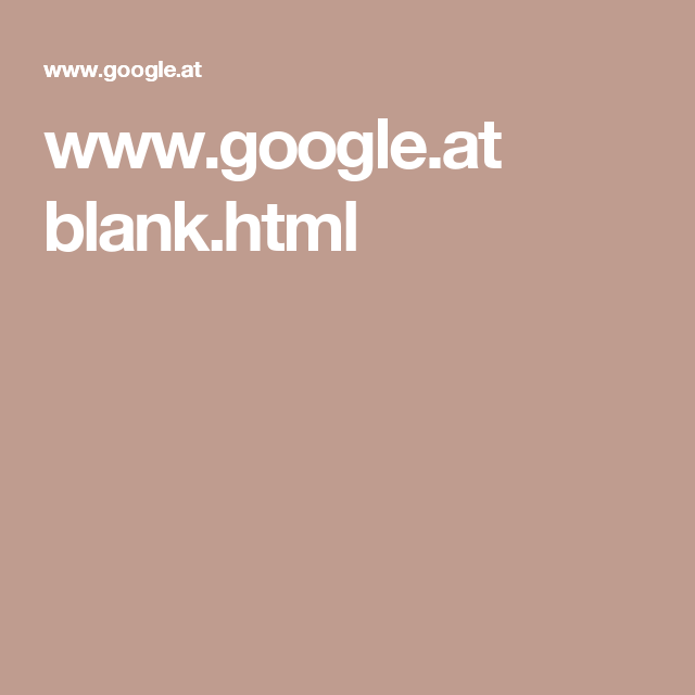 www.google.at blank.html