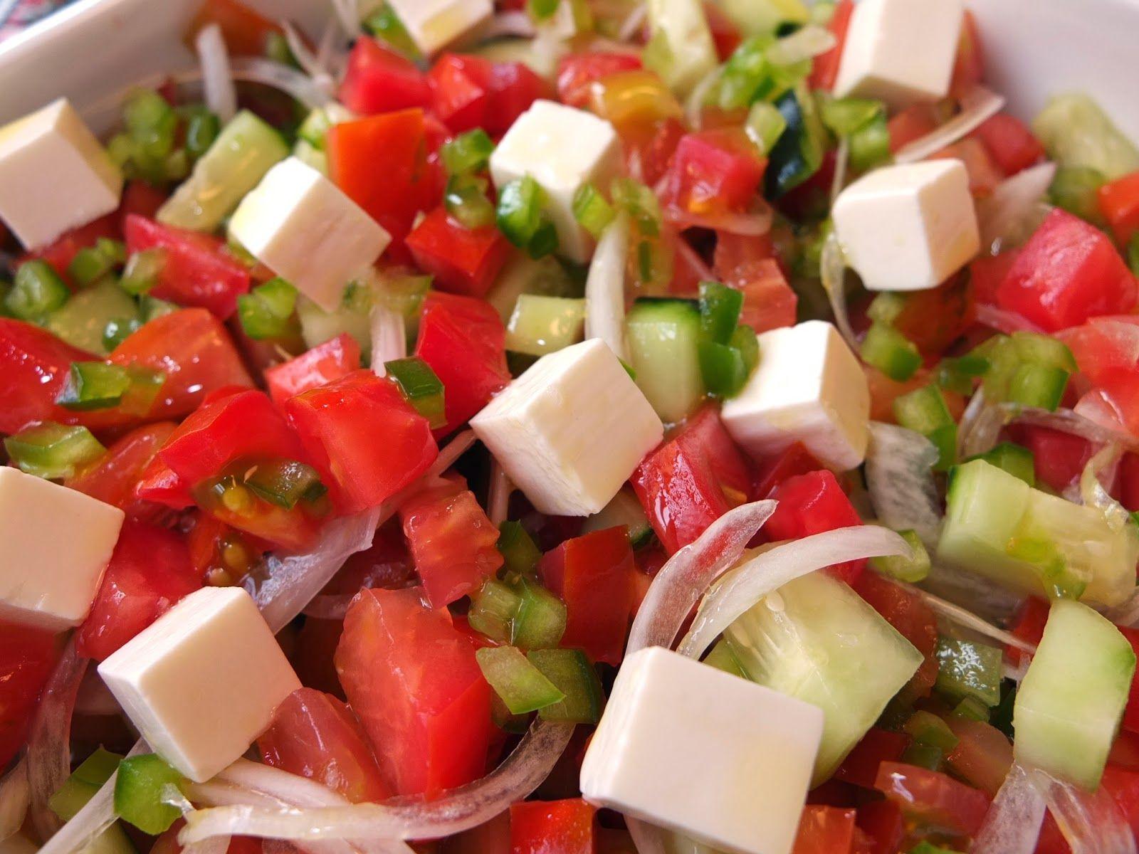 Ensalada turca  Todas mis recetas  Comida Ensaladas y