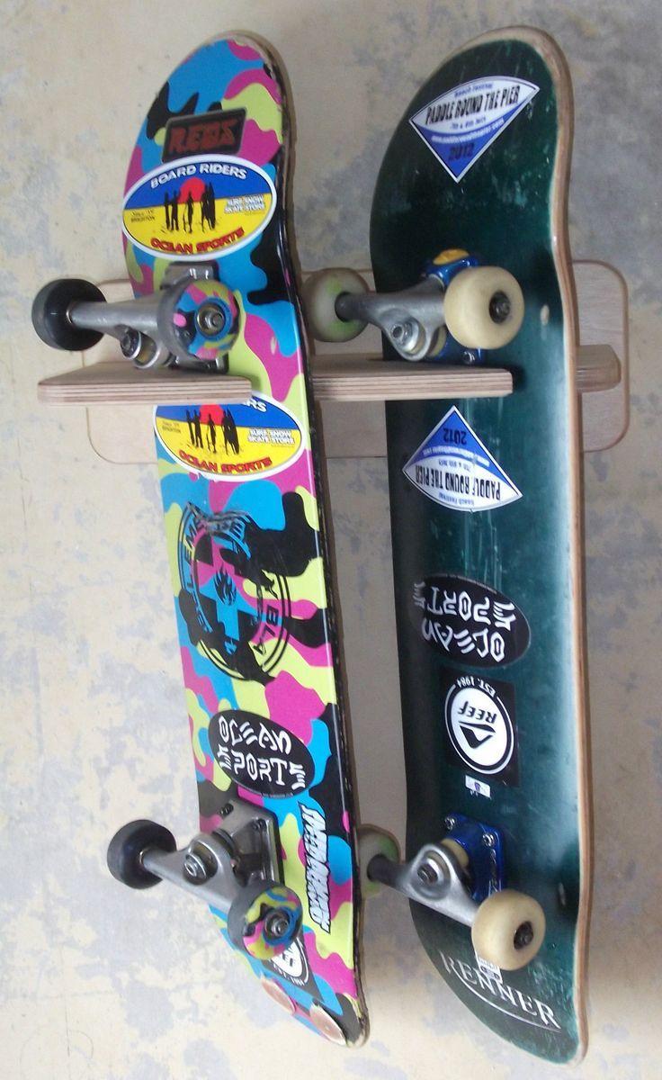 Skateboard on wall - Google Search