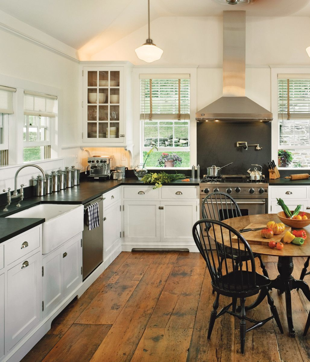 White Kitchens For Vintage Homes White Kitchen Vintage Classy Kitchen Kitchen Flooring