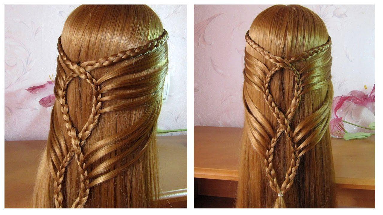 Coiffure facile a faire cheveu mi long