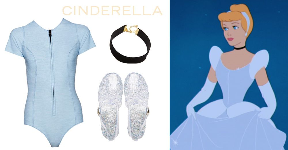 8 swimsuits inspired by Disney and Disney•Pixar characters   Cinderella-inspired swim look   [ http://di.sn/6001BFsC1 ]