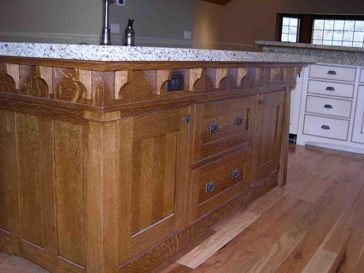 Quarter Sawn Oak Kitchen Cabinets   oak kitchen cabinets ...