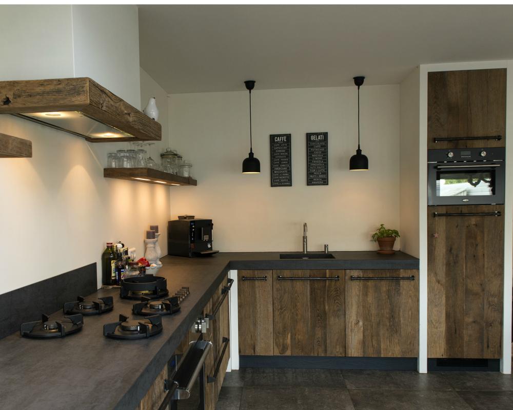 Eiken keuken van restylexl als u voor een originele eiken keuken