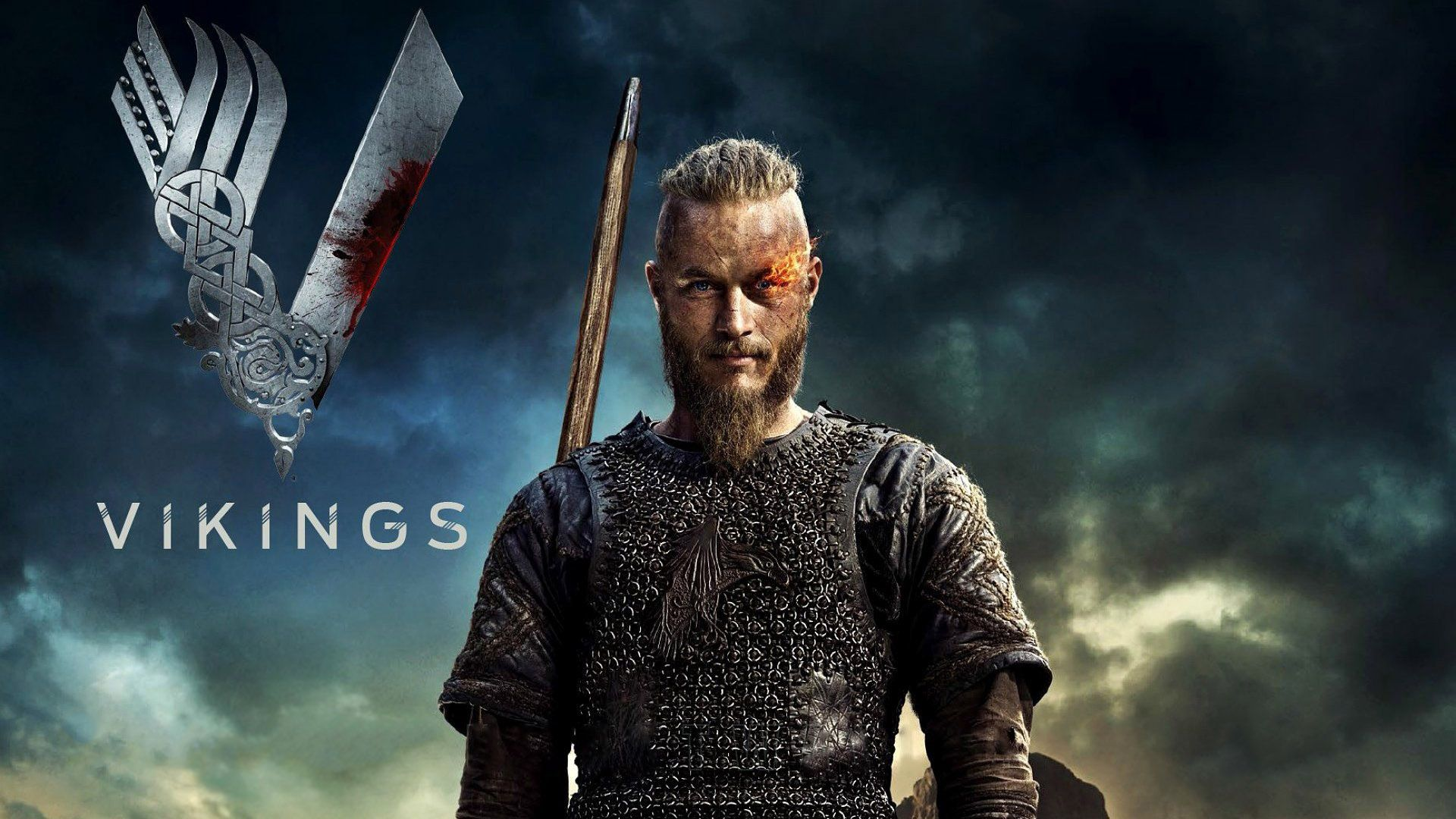 Get Travis Fimmel As Ragnar Lothbrok In Vikings Wallpaper Wide Or HD From TV Series Wallpapers Set