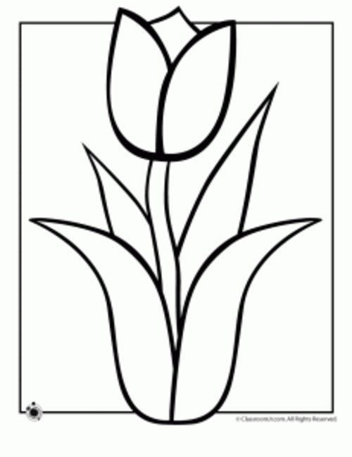 Spring Flowers Coloring Pages Disney