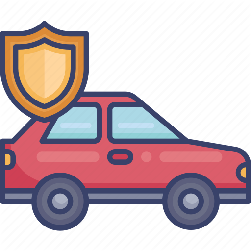 Automobile Car Insurance Protection Security Shield Vehicle Icon Download On Iconfinder Car Automobile Toy Car