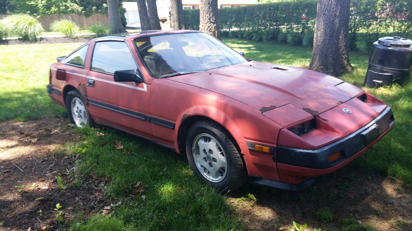 1985 Nissan 300zx turbo barn find in Scott Claytons backyard ...