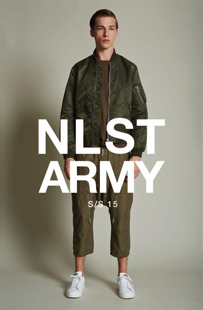 #NLST #SS15 #ARMY #menswear