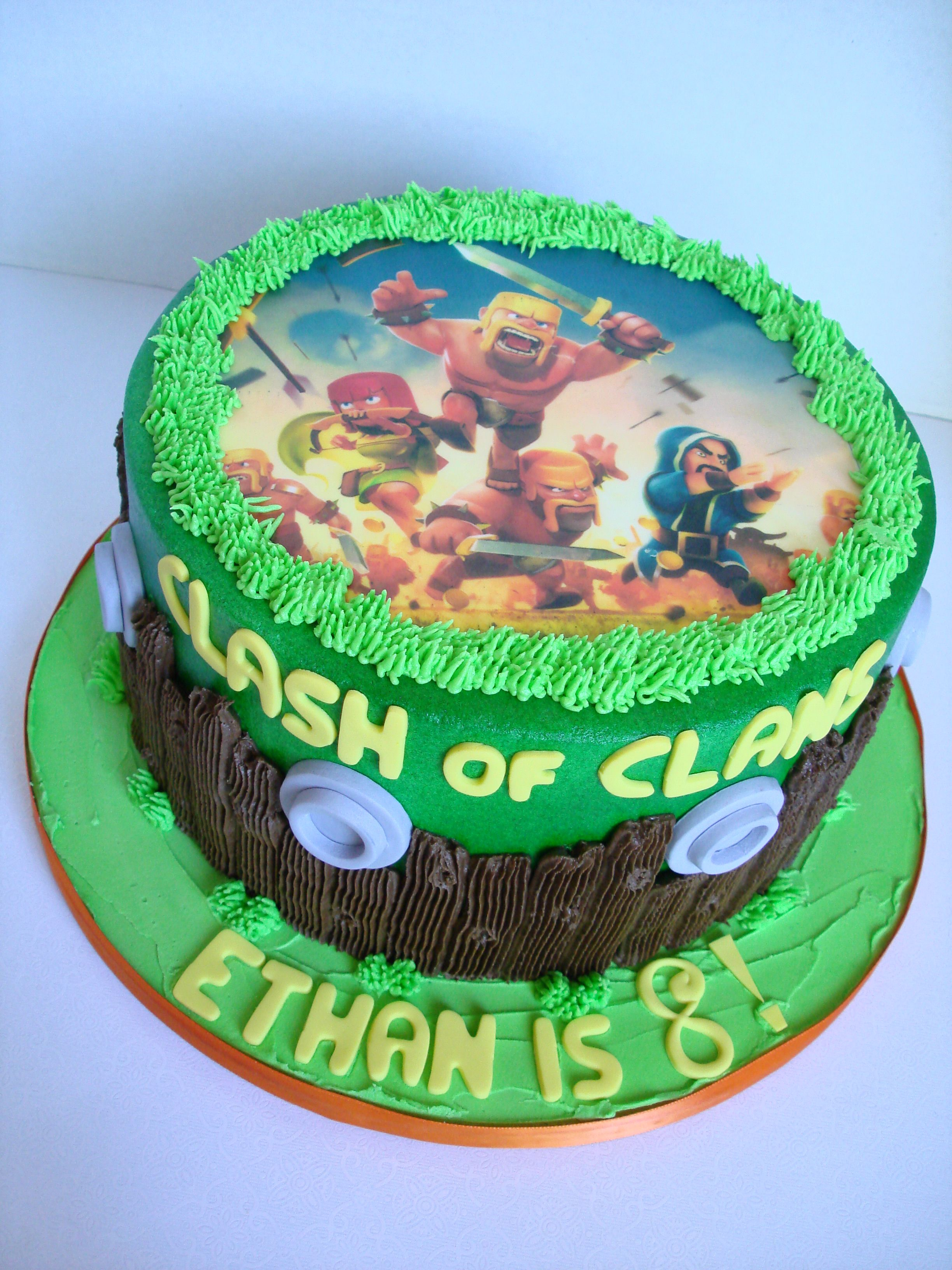 Clash Of The Clans Cake Cake Cute Cakes Cake Recipes
