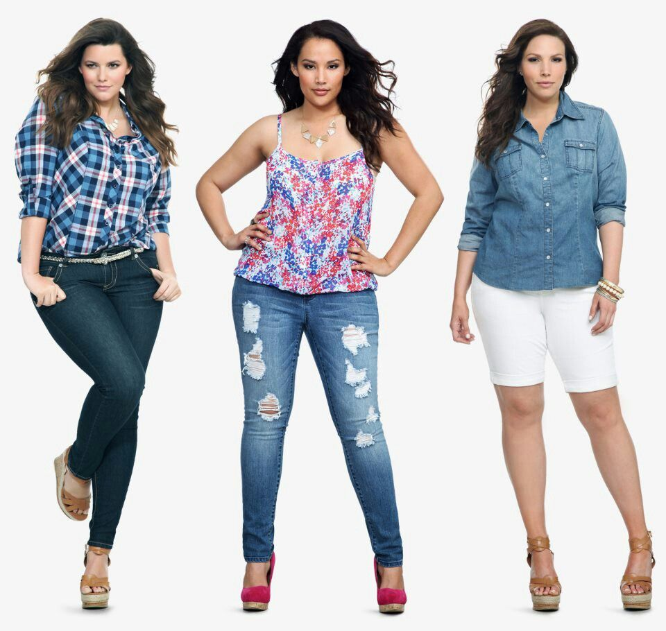 caea2111745 Torrid fashion ideas! Love the wedge shoes with all these outfits ...