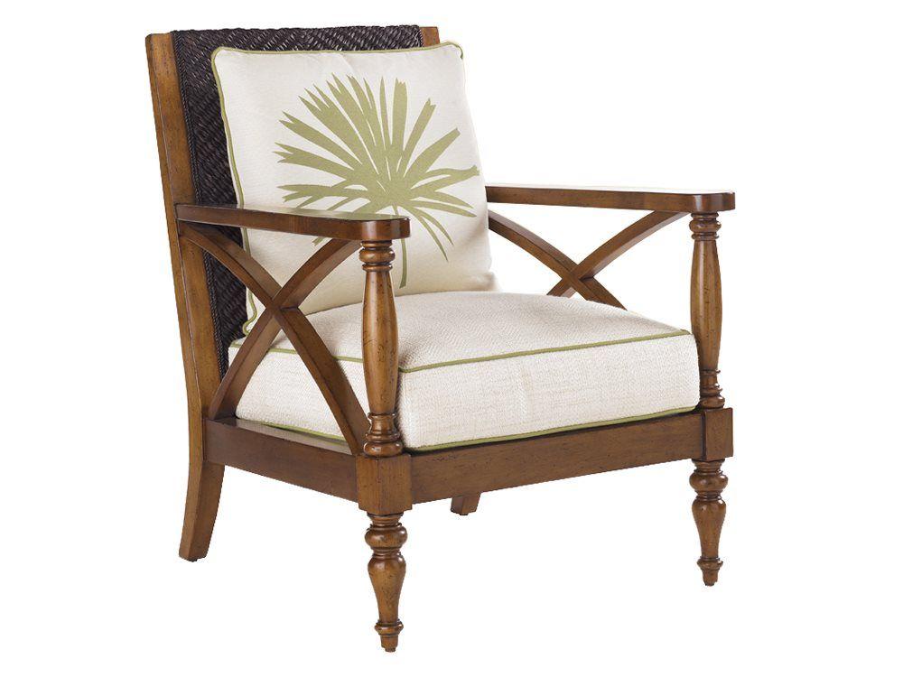 Remarkable Tommy Bahama Island Estate Avalon Accent Chair Furniture Machost Co Dining Chair Design Ideas Machostcouk