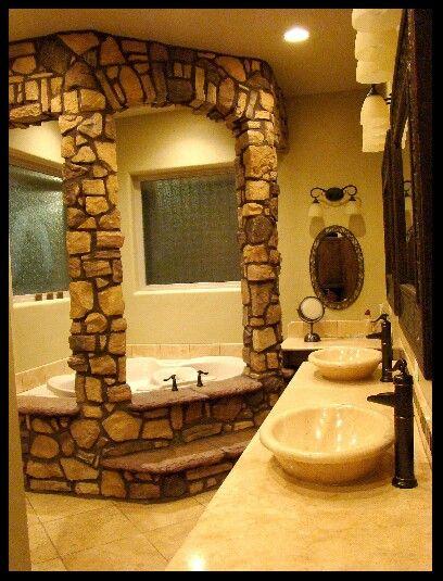 omg garden tub humble abode home home decor home goods decor. Black Bedroom Furniture Sets. Home Design Ideas