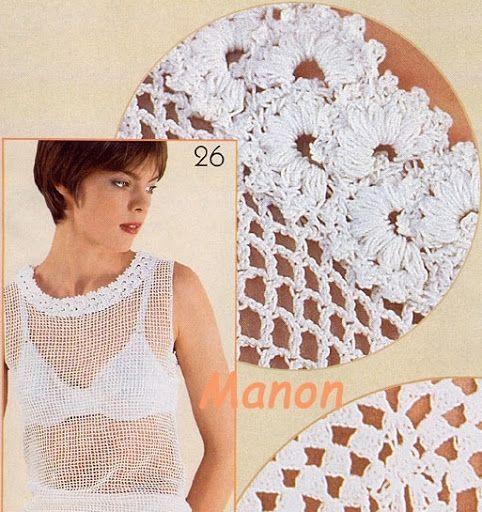 flores tejidas a crochet 4 - Mary.6 - Álbumes web de Picasa
