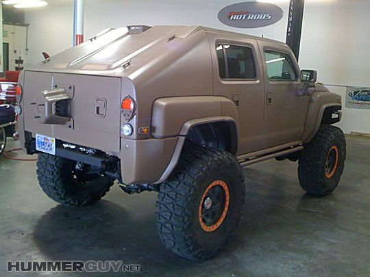 Amazing Custom Hummer H3t Is Battle Ready Hummer H3 Hummer