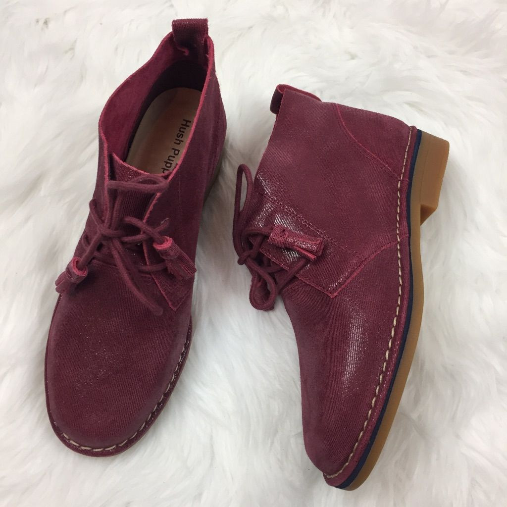 Hush Puppies Shoes Hush Puppies Red Shimmer Cyra Catelyn