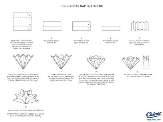 How To Make Table Napkin Designs napkin folding lotus youtube Napkin Folds Directions Creative Napkin Folds For Your Holiday Table Ivillageca