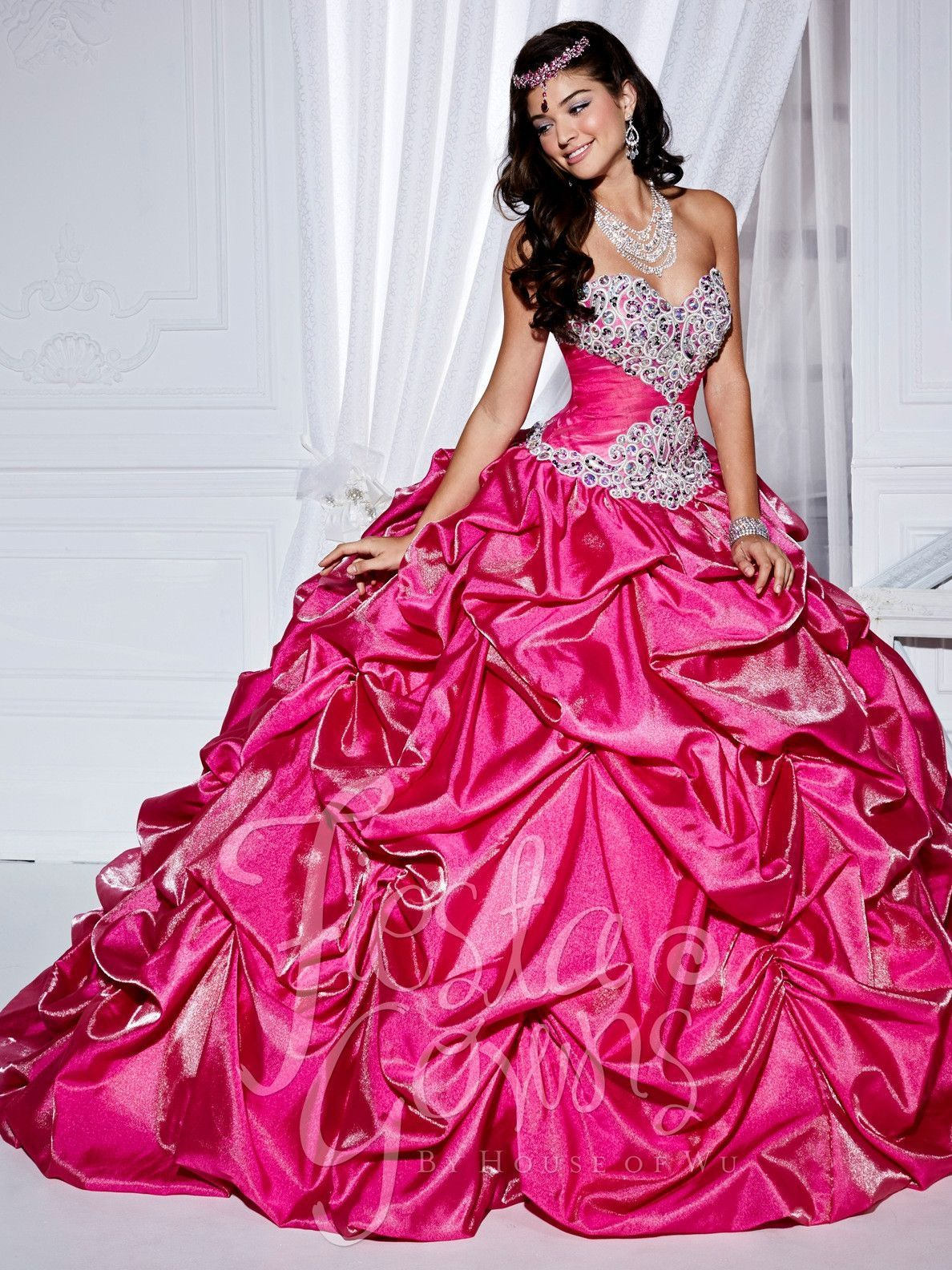 Fiesta Quinceanera Dress by House of Wu Style 56238 | Quincera ...