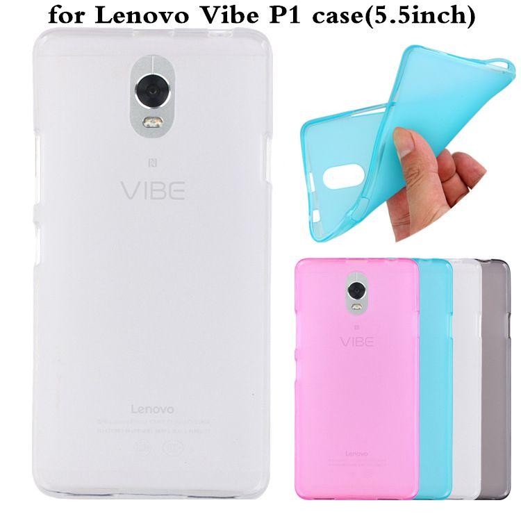 newest 6f752 0a5a3 Ultra thin Multicolor For Lenovo Vibe P1ma40 case Scrub TPU Soft ...